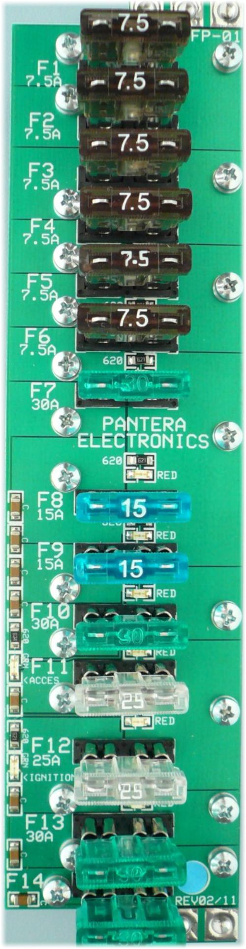 De Tomaso Pantera Fuse Panel Ignition Box