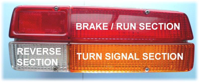 Bricklin SV-1 Tail Lights LED Turn Signal Lights Conversion pair